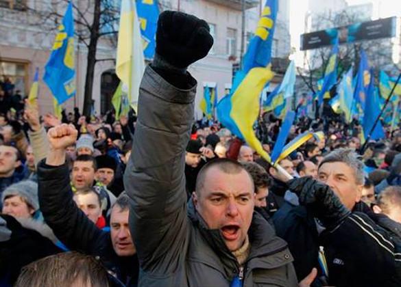 Титушки на Майдане будут работать за идею и еду