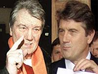 Лицо и организм Ющенко идут на поправку