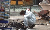 Взрыв газовых баллонов близ здания Минфина Греции: есть легко