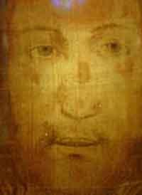 Найдена цветная фотография Иисуса Христа