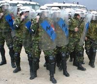 Военная полиция спасет армию от