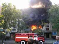 В Курганской области умышленно подожгли общежитие