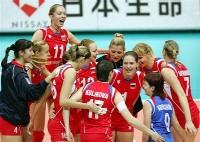 Российским волейболисткам нет равных на Земле