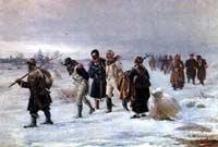 Наступают настоящие русские морозы