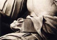 Статуя Лоренцо Медичи. Фрагмент