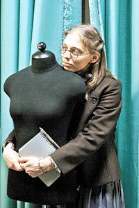 Катю Пушкареву одевают  на «блошиных» рынках