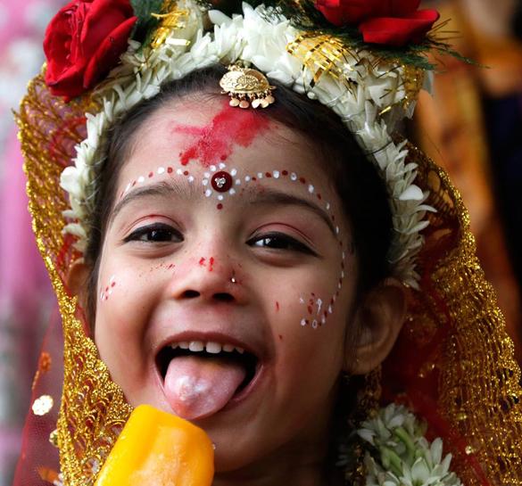 В Калькутте прошел фестиваль Рам Навари