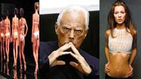 Модельер Джорджо Армани осудил худых манекенщиц