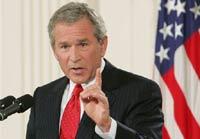 Буш признал ошибочность повода для вторжения в Ирак