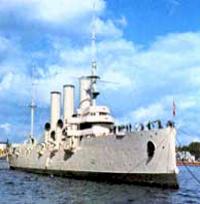 Неизвестные страницы истории крейсера «Аврора»