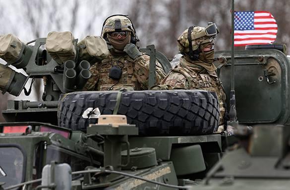 Американская бронемашина Stryker вышла из строя после учений в Балтии