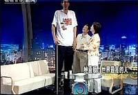 Самый высокий человек в мире женился