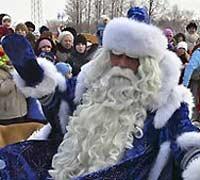 Дед Мороз подарил мальчику долгожданного папу