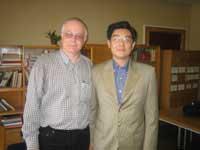 Александр Панцов с внуком Мао Цзэдуна
