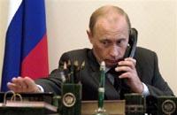 Путин и Ширак по телефону обсудили переговоры с Ираном и ХАМАС