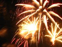 Как в Новый год не стать жертвой фейерверка?