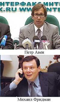 Петр Авен Михаил Фридман