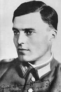 Граф фон Штауффенберг - один из активных участников заговора