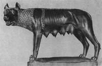 Капитолийская волчица - символ Древнего Рима