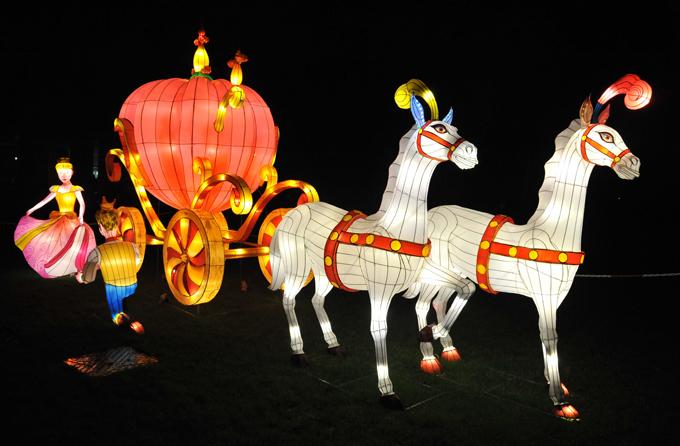 Да будет свет! Фестиваль фонарей в Лондоне