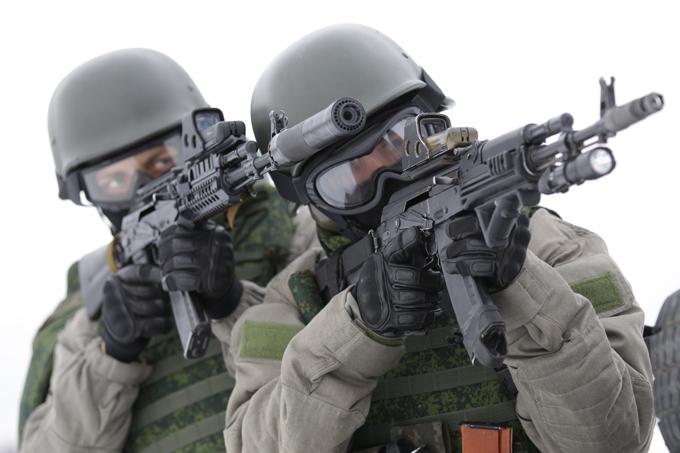 Оружие подразделение специального