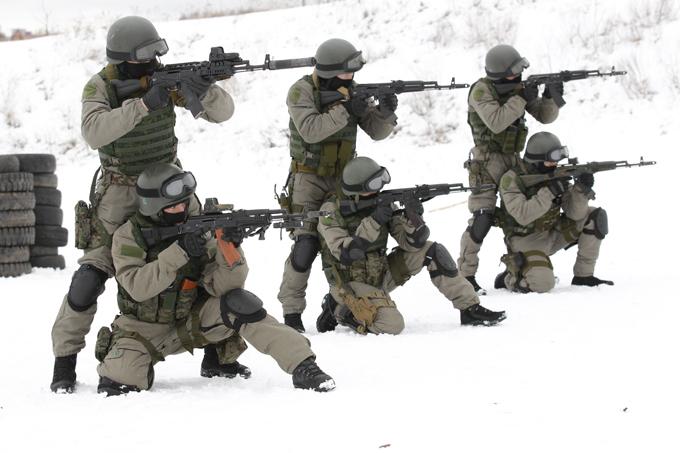Подразделение специального назначения - 14 (Фото) - Оружие - Правда.Ру