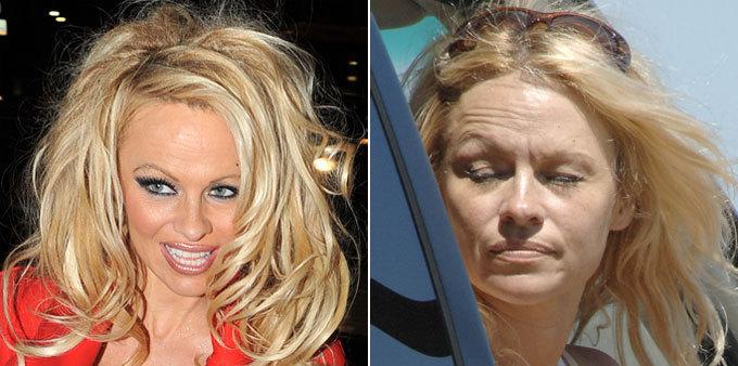 Фото знаменитостей звезды без макияжа