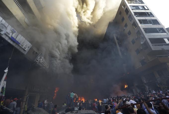 レバノンの首都ベイルート南部の爆弾テロ - NAVER まとめ