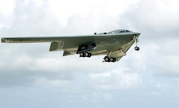 Летающее крыло b 2 spirit смотрите все
