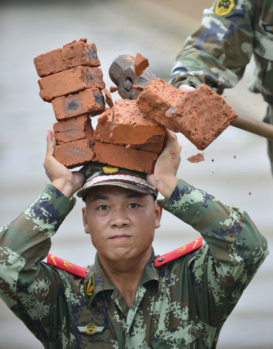 Китая тяжело в учении – легко в бою
