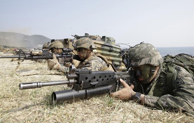 И foal eagle южная корея сша учения армия