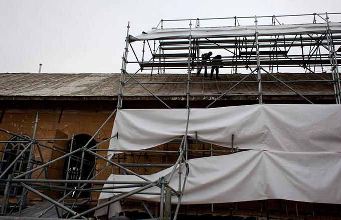 Реставрация Базилики  Рождества Христова  в Вифлееме Кропотливая реставрация  базилики продлится 4-5 лет.Но, во воремя проведения работ для посетителей церковь закрываться не будет. реконструкция, Храма Рождества Господня