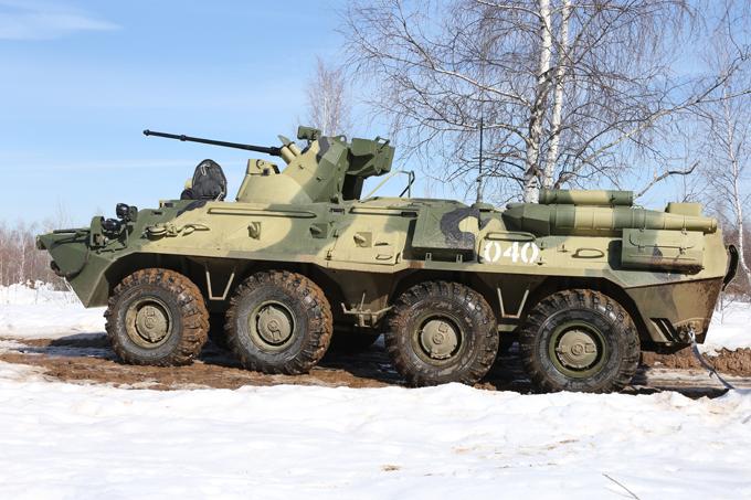 Бтр 82а российская армия укрепляет