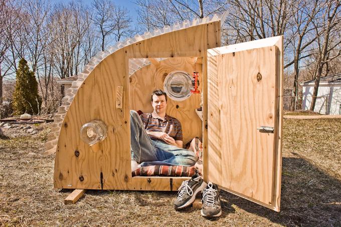 Как построить маленький деревянный дом своими руками