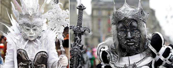 Интересное всеобщее карнавальное
