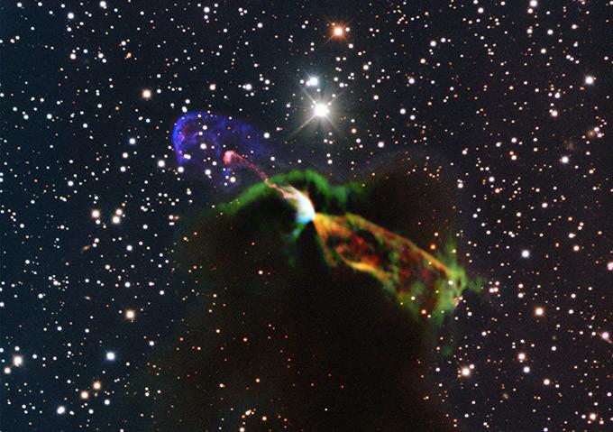 Астрономы получили четкие изображения рождения новой звезды