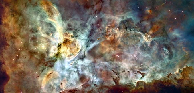 Таинственный космос космос манит