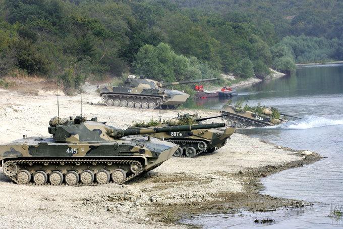 Огненный  Спрут   Разработка этой единицы бронетехники началась в конце 80х.  Спрут-СД. Танк-амфибия, армия, оружие