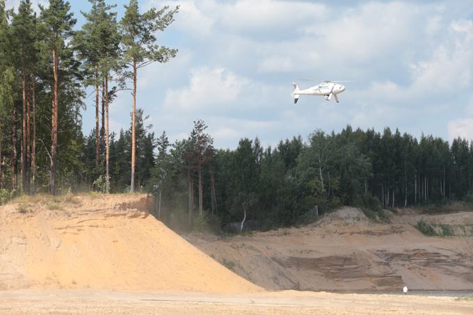 Беспилотный вертолет  Горизонт  Операторы используют системы ГЛОНАСС/INS и GPS для навигации беспилотника. Данные пилотирования выводятся на монитор рабочего места пилота. Беспилотный вертолет  Горизонт , армия, оружие, флот