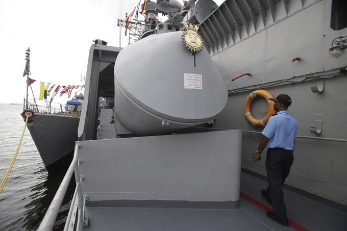 Новая мощь индийского флота Корабли прибыли рамках пятидневного дружеского визита. индийский флот, корабли, Филиппины, визит