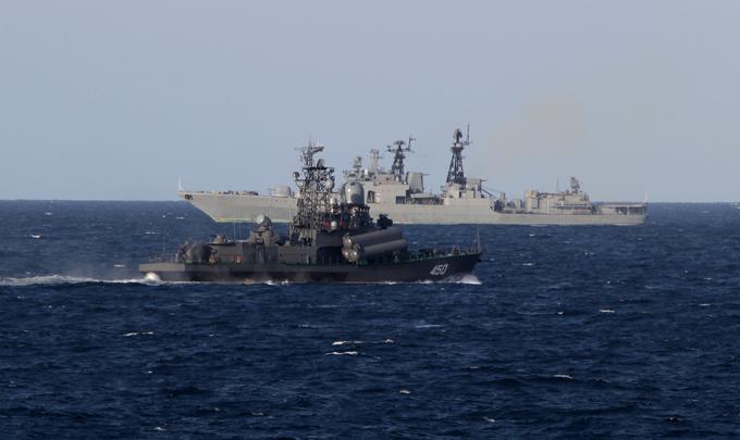 Военной флотилии к тихоокеанскому