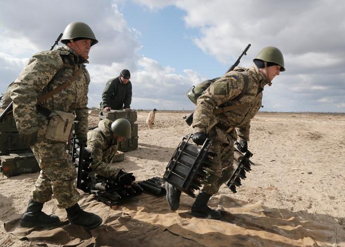 Оружие военный полигон под житомиром