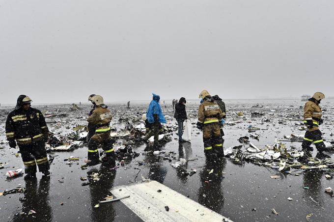 Последние переговоры пилотов упавшего «Боинга» сдиспетчерами аэропорта Ростова