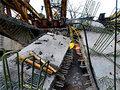 Трасса Москва-Петербург полностью перекрыта из-за обрушения моста