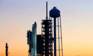 Запуск Falcon  был отменен за тридцать секунд до старта