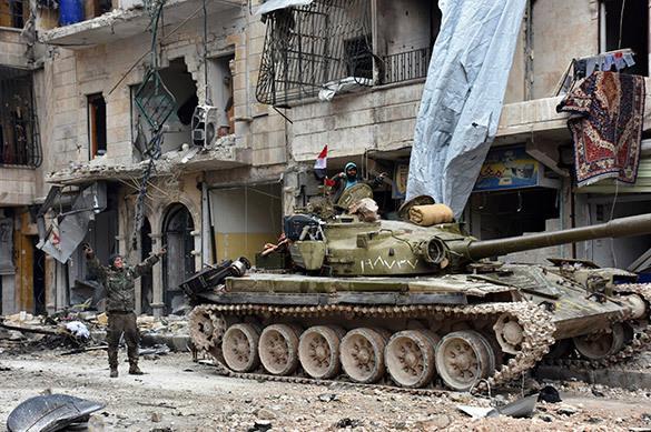 Террористы бегут из Сирии