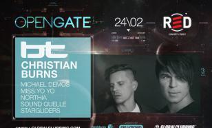 Open Gate: BT & Christian Burns согреют Москву
