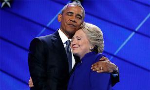 СМИ: после победы Трампа Клинтон позвонила Обаме и извинилась