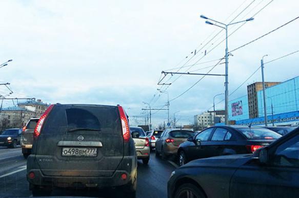 В Москве уменьшат размеры дорожных знаков