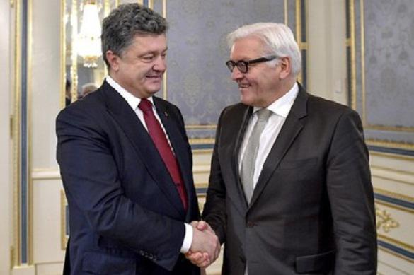 Порошенко в телефонном разговоре с Штайнмайером обсудил ситуацию на Донбассе